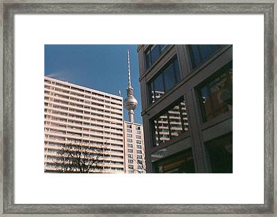 Downtown Berlin Framed Print