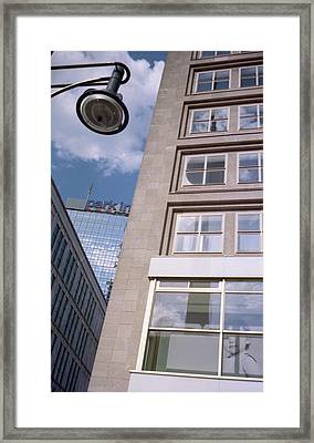 Downtown Berlin Framed Print
