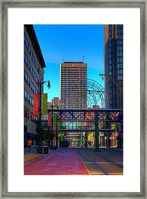 Downtown Color Framed Print