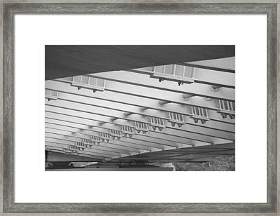 Downtown Columbus Bw2367 Framed Print by Brian Gryphon
