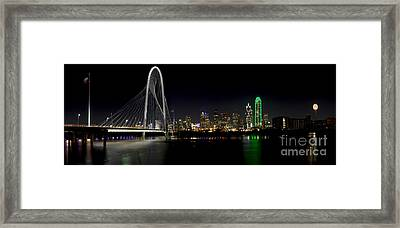 Downtown Dallas, Texas Framed Print by Anthony Totah