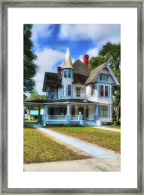Framed Print featuring the photograph Downtown De Funiak Springs # 4 by Mel Steinhauer