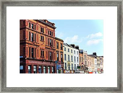 Downtown Dublin Framed Print