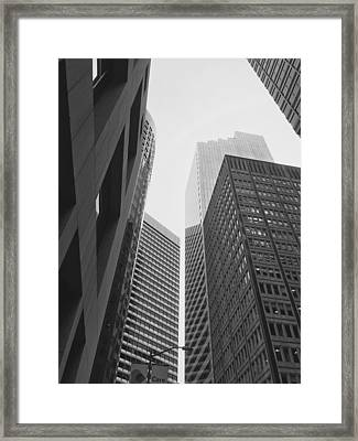 Downtown Empathy - Limited Run Framed Print by Lars B Amble
