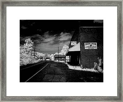 Downtown Ewing Virginia Framed Print
