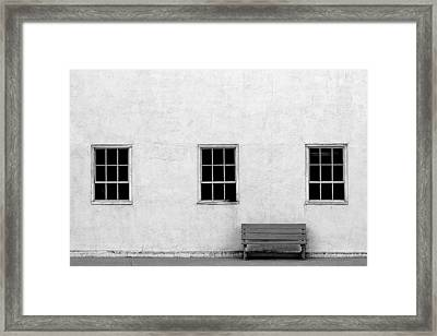 Downtown Havre Framed Print by Todd Klassy