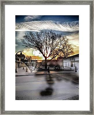 Downtown Hdr Atchison Framed Print by Dustin Soph