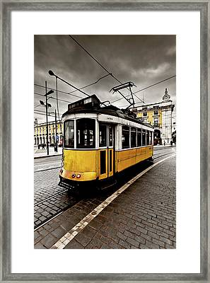 Downtown Framed Print by Jorge Maia