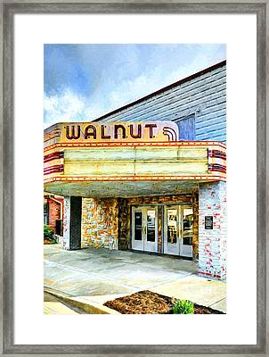 Downtown Lawrenceburg Indiana Framed Print by Mel Steinhauer