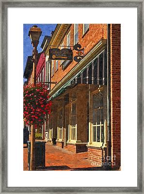 Downtown Lexington 2 Framed Print by Kathy Jennings