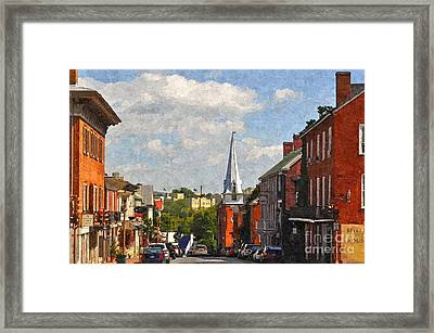 Downtown Lexington 3 Framed Print