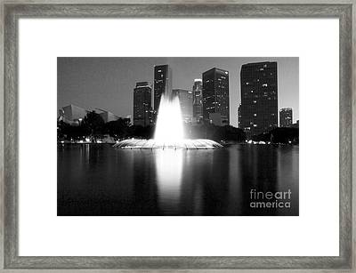 Downtown Los Angeles 25 Framed Print by Micah May