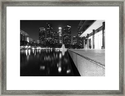 Downtown Los Angeles 26 Framed Print by Micah May