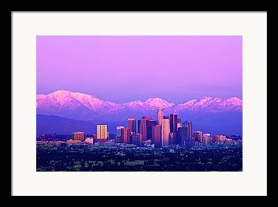 City Of Los Angeles Framed Prints