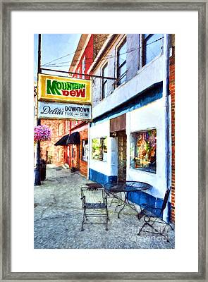 Downtown Maysville Kentucky # 3 Framed Print