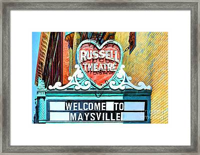Downtown Maysville Kentucky # 4 Framed Print