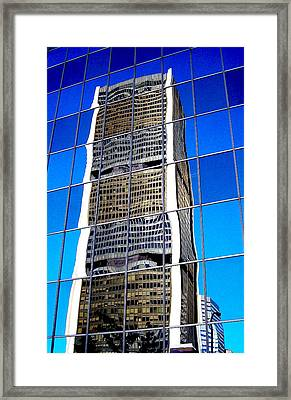 Downtown Montreal Framed Print