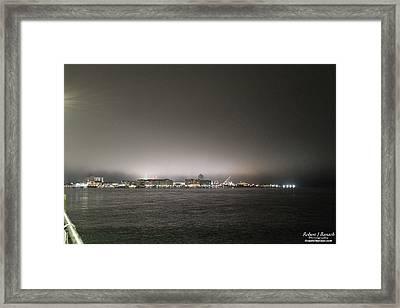 Downtown Oc Skyline Framed Print