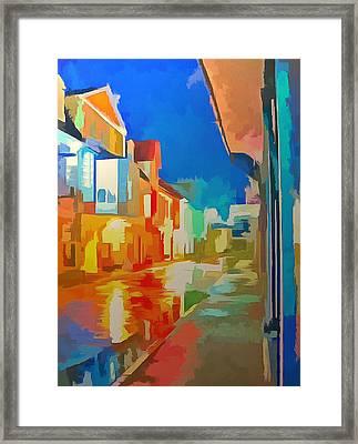 Downtown Pamu Framed Print by Mario Carini