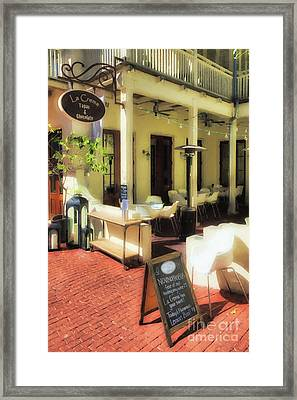 Downtown Rosemary Beach # 7 Framed Print