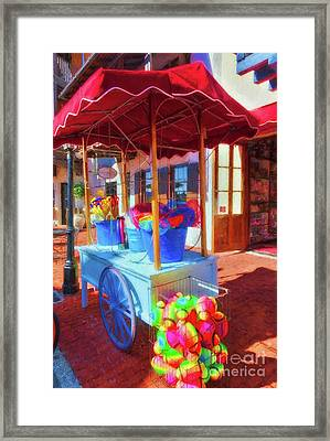 Downtown Rosemary Beach Florida Framed Print