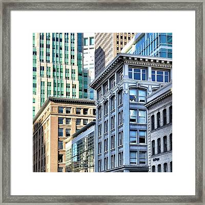 Downtown San Francisco Framed Print