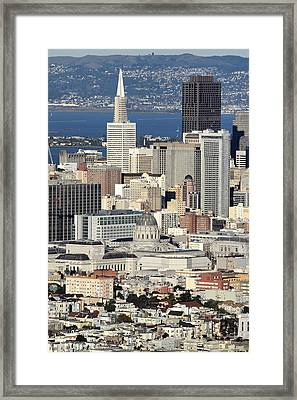 Downtown San Francisco Framed Print by Pierre Leclerc Photography