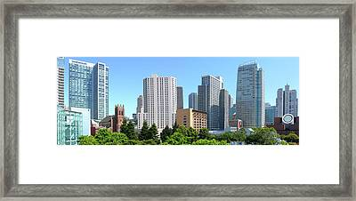 Framed Print featuring the photograph Downtown San Fransisco by Mike McGlothlen