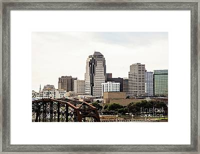 Downtown Shreveport  Framed Print