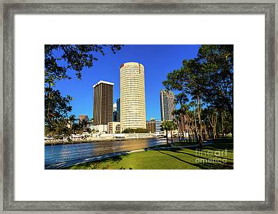 Downtown Tampa Sykes And Bbandt Buildings Framed Print