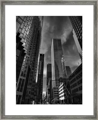 Downtown Toronto 005 Framed Print by Lance Vaughn
