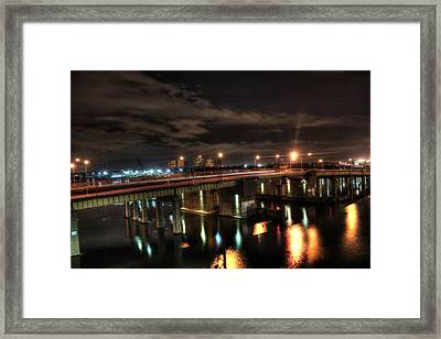 Downtown Tunnel Bridge Framed Print by Shannon Louder