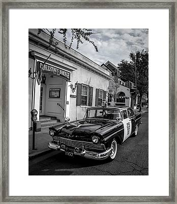 Doylestown Borough Police Cruiser Framed Print by Michael Brooks