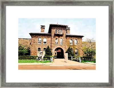 Doylestown-michener Museum Framed Print by Addie Hocynec