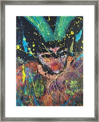 Dr. Death Framed Print