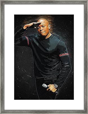 Dr. Dre Framed Print
