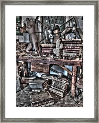 Dr. Fausts Study Framed Print