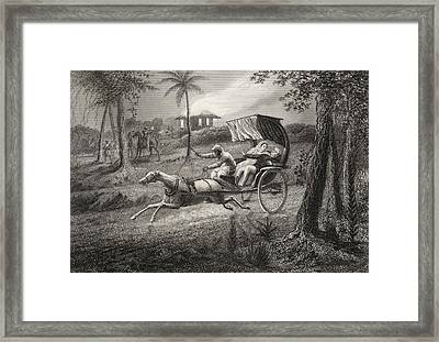 Dr Graham Shot In His Buggy By The Framed Print by Vintage Design Pics