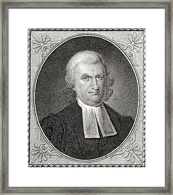 Dr John Witherspoon 1723 To 1794 Framed Print by Vintage Design Pics
