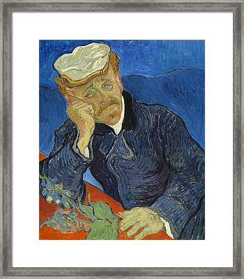 Dr Paul Gachet  Framed Print by Vincent van Gogh