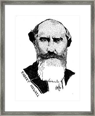Dr. Robert Newell Framed Print
