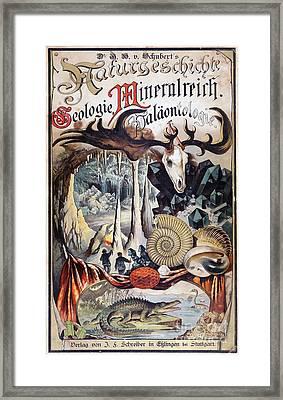 Dr. Schuberts Naturgeschichte, 1888 Framed Print by Paul D. Stewart