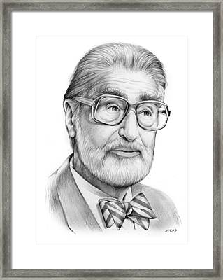 Dr. Seuss Framed Print by Greg Joens