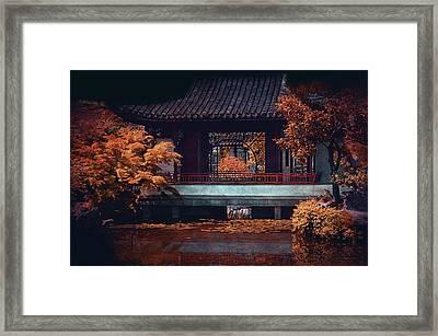 Dr. Sun Yat-sen Garden Framed Print
