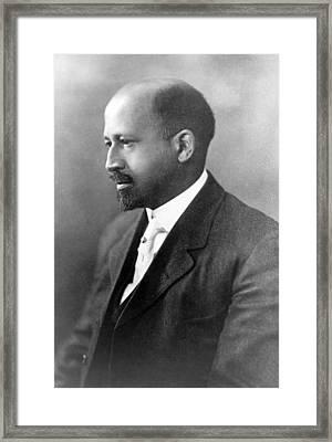 Dr. W.e.b. Du Bois, African American Framed Print by Everett