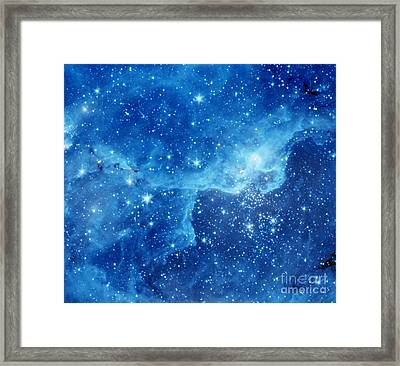 Dr22 In The Cygnus Region Of The Sky Framed Print by American School