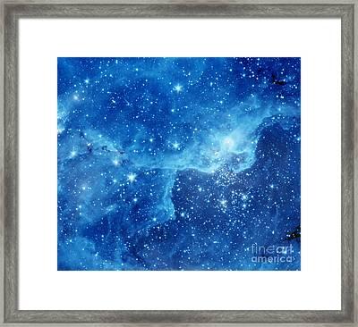 Dr22 In The Cygnus Region Of The Sky Framed Print