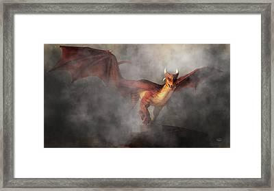 Draco Framed Print by Daniel Eskridge