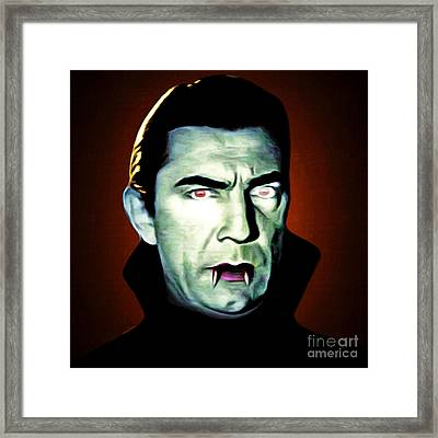 Framed Print featuring the photograph Dracula 20170414 Square by Wingsdomain Art and Photography