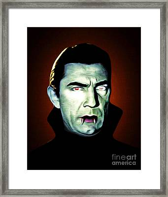 Dracula 20170414 Framed Print by Wingsdomain Art and Photography